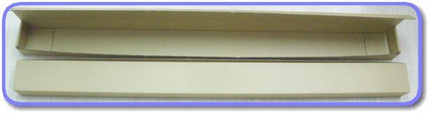 長尺の段ボール箱